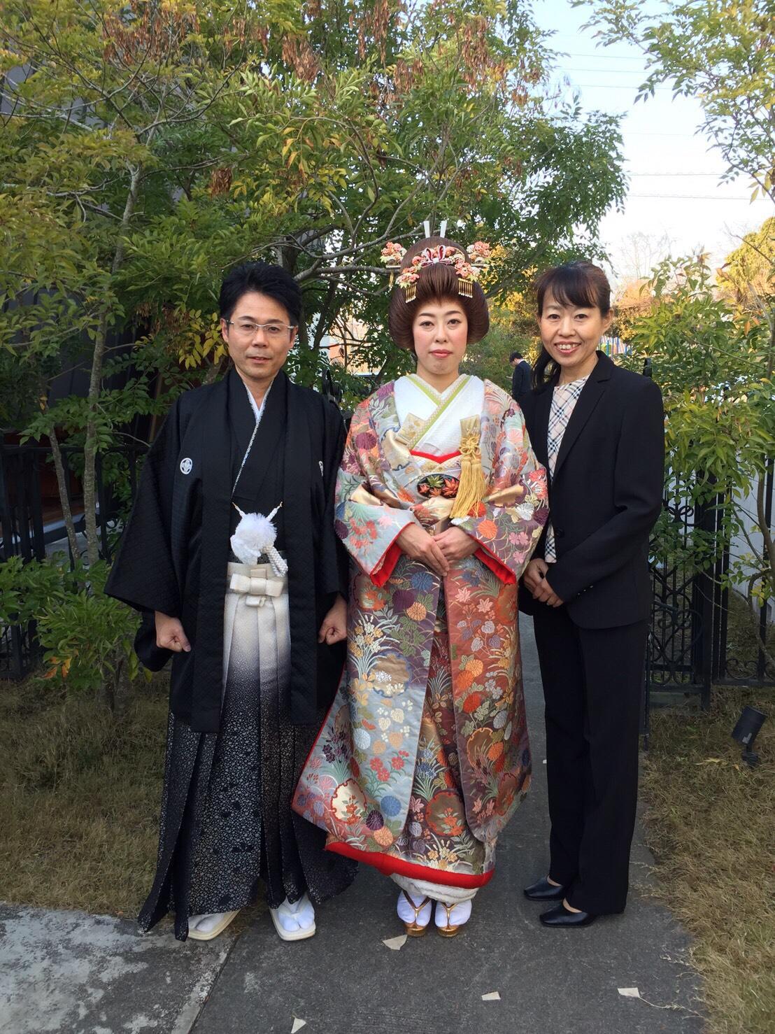 日本仲人協会で成婚したM君とHさん